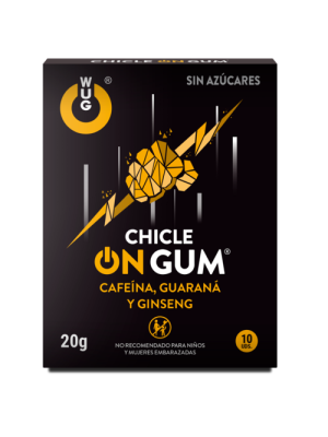 Vigorizante en Chicle Masticable 10 U